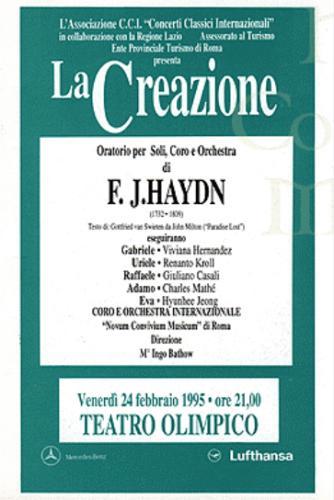 1995_La Creazione Hydn_Feb