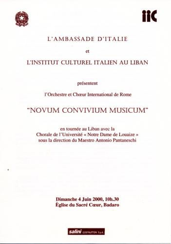 2000_Messa del Giubileo_Badaro Sacro Cuore
