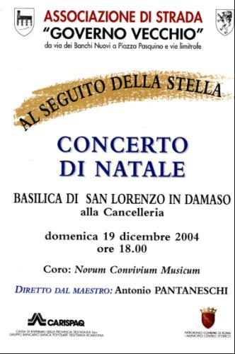2004_Conc.Natale_S.Lorenzo Damaso