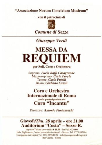 2005 Requiem Verdi-Auditorium Costa_Sezze