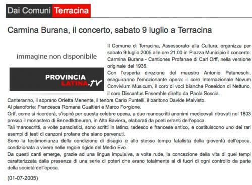 2005_Carmina Burana-Terracina