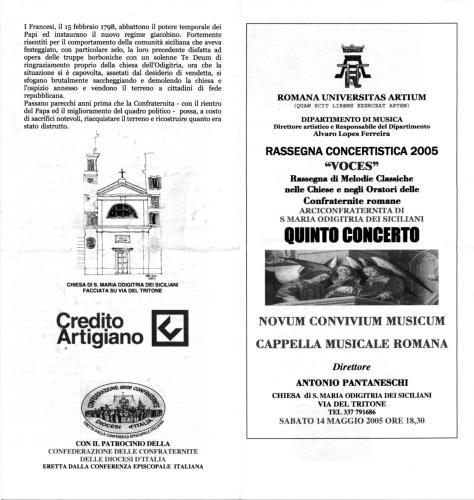 2005_Rass.VOCES_S.Maria Odigitria