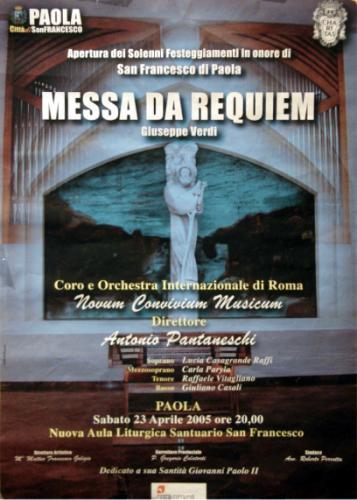 2005_RequiemVerdi-Santuario S. Francesco_Paola