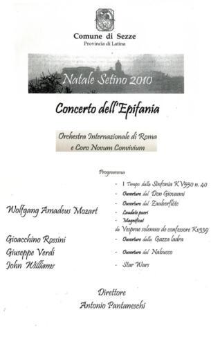 2011_Sezze Auditorium Costa-Epifania