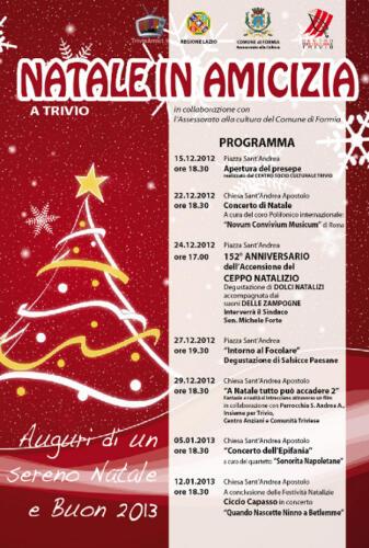 2012_Trivio di Formia_Natale in Amicizia