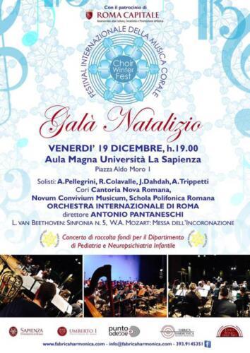 2014_Galà Natalizio _Sapienza