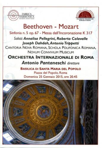 2015_Gen_S.Maria del Popolo Beethoven Mozart