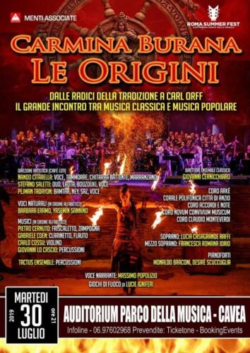 2019_30_Lug_Cavea Auditorium Carmina Burana